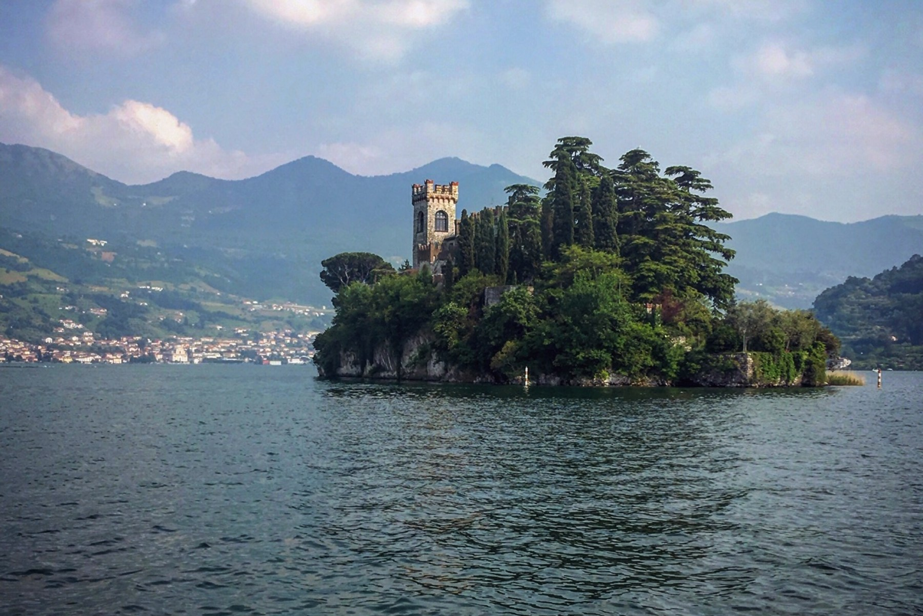 Loreto, tiny lake island